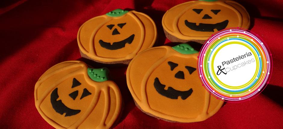 galletas calabazas halloween