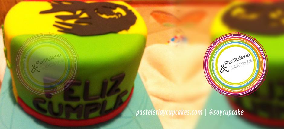 pastel temática reggae
