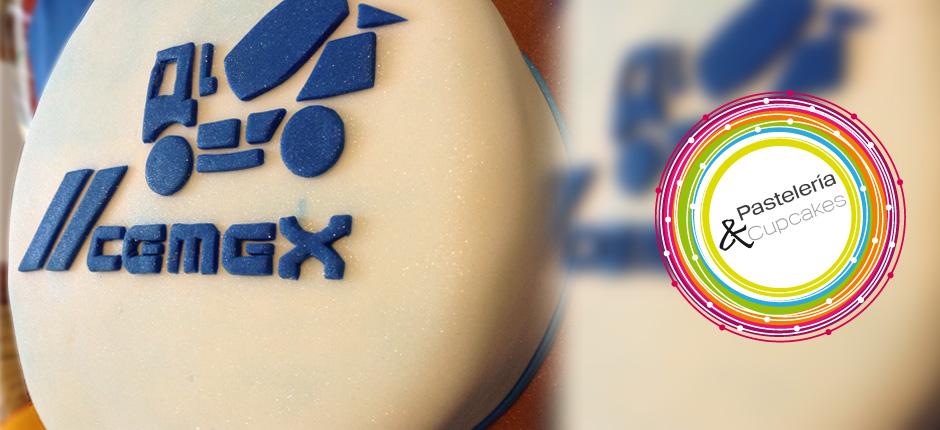 Pastel personalizado a empresa