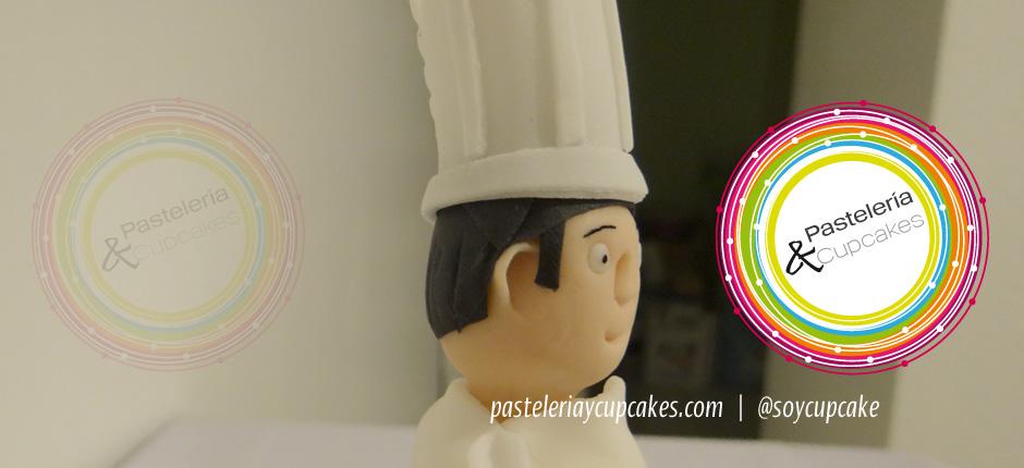 Pastel para cumpleaños Chef