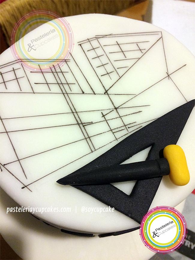 pastel tematica arquitectura