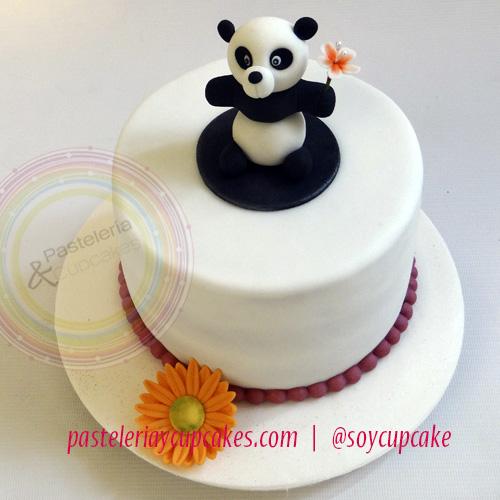 Pasteles Con Diseños En Fondant Oso Panda
