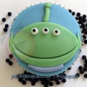 Cupcake marcianito