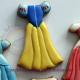 Galletas vestidos de princesas