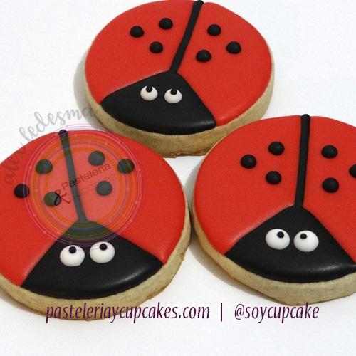 Galletas ladybug
